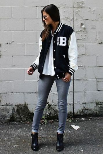 14bca51ec91db0e310e1acf91b012d3b--letterman-jacket-outfit-letterman-jackets